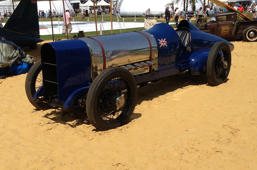 Land Speed Record holders at Goodwood