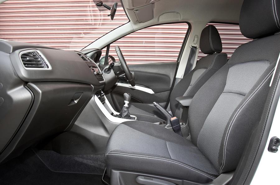 Suzuki S-Cross interior