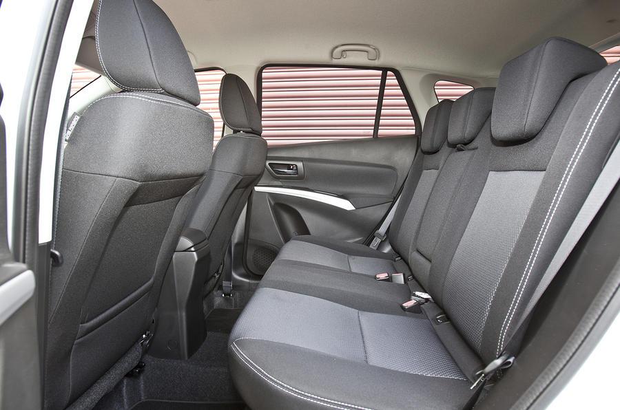 Suzuki S-Cross rear seats