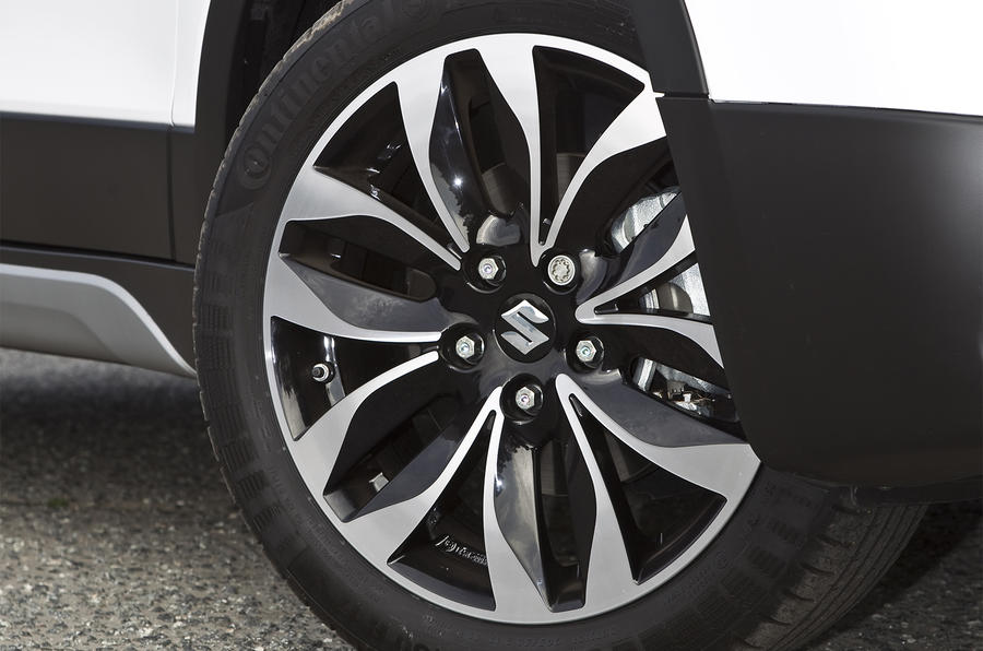 17in Suzuki S-Cross SZ4 alloys