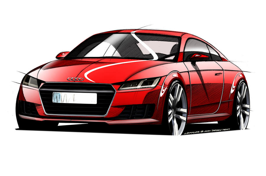 New Audi TT previewed in official design sketches