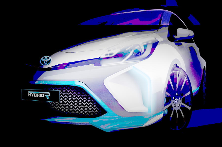 Hybrid Toyota Yaris concept set for Frankfurt reveal