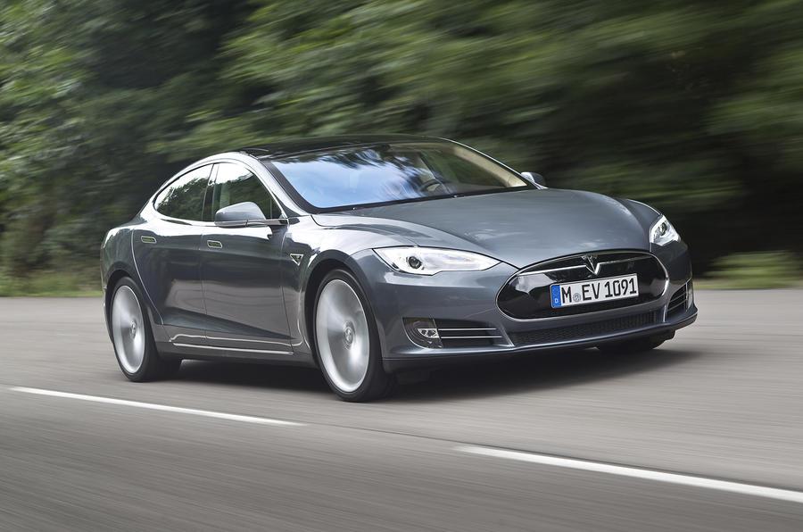 130mph Tesla Model S