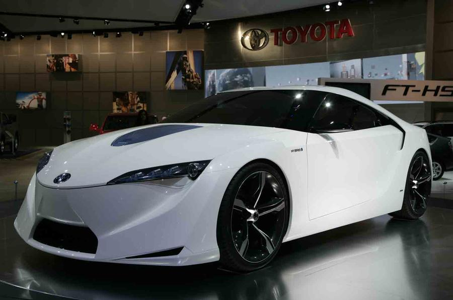 New Toyota Supra concept for Detroit motor show