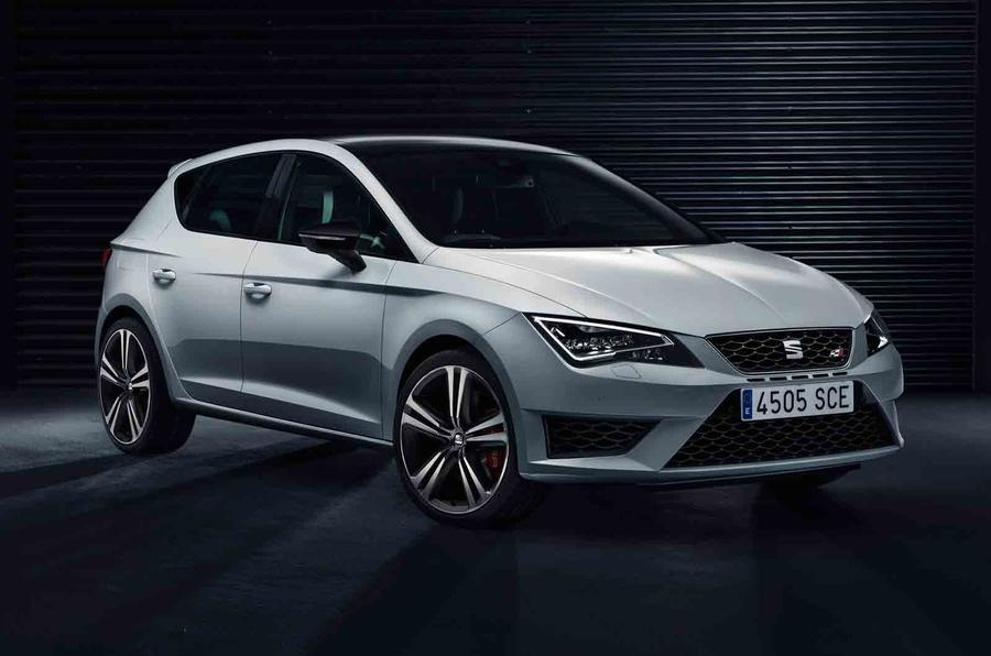 New Seat Leon Cupra line-up revealed