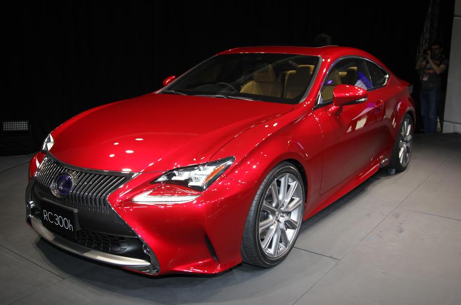 Tokyo motor show 2013: Lexus RC coupé