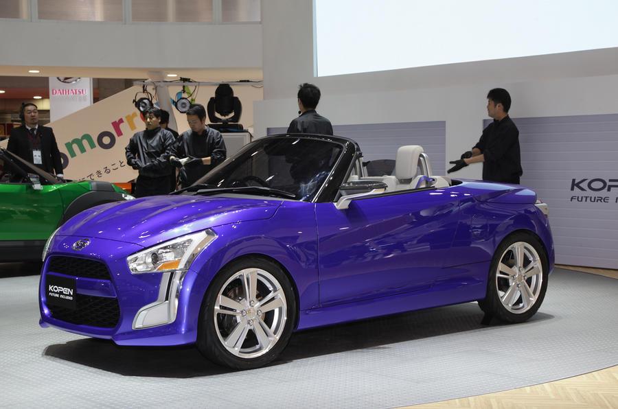 Tokyo motor show 2013: Daihatsu Kopen concept