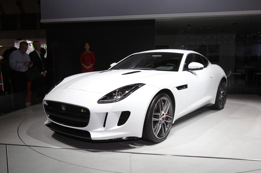 jaguar f type coupe revealed autocar. Black Bedroom Furniture Sets. Home Design Ideas