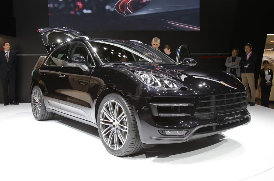 Porsche Macan gets LA motor show debut
