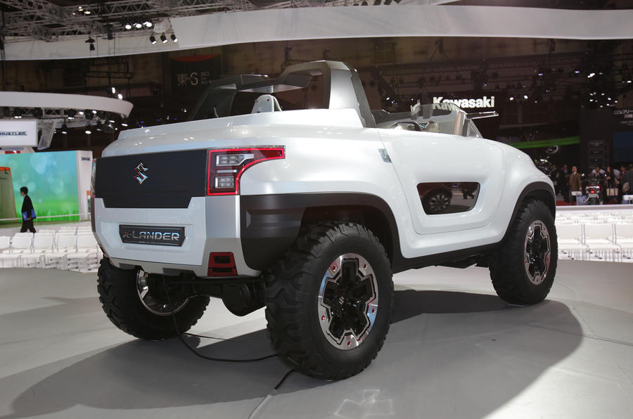 Tokyo motor show 2013: Suzuki X-Lander concept