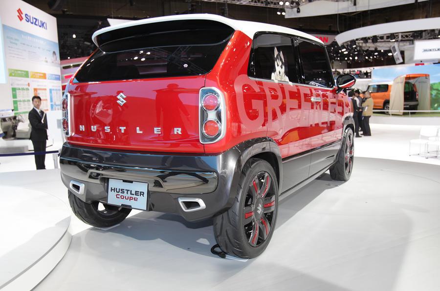 Tokyo motor show 2013: Suzuki Hustler