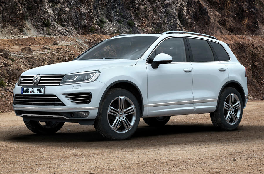 revised volkswagen touareg prices revealed autocar. Black Bedroom Furniture Sets. Home Design Ideas