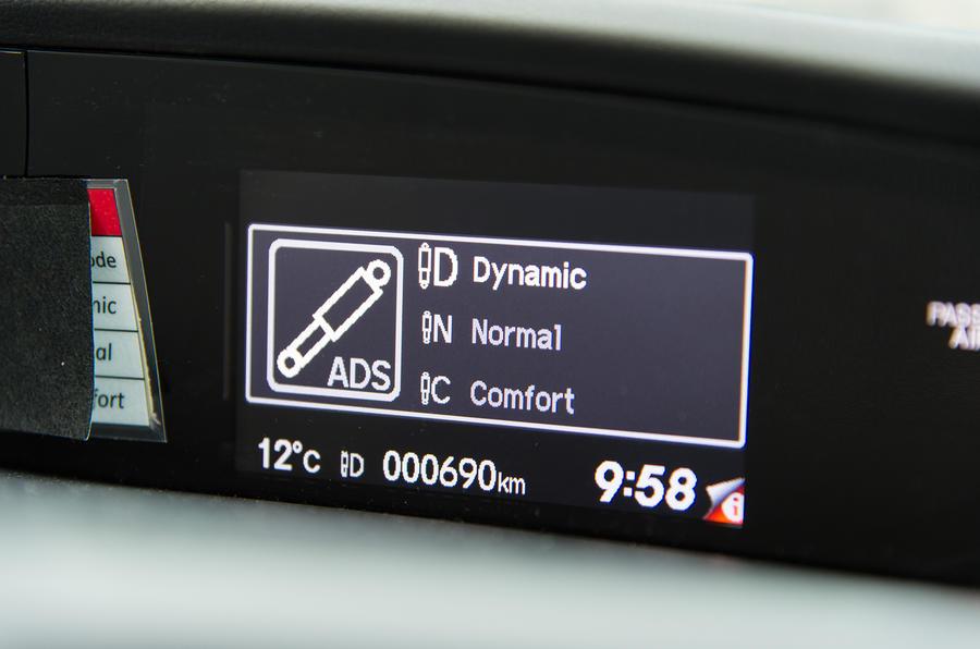 Honda Civic Tourer dynamic control