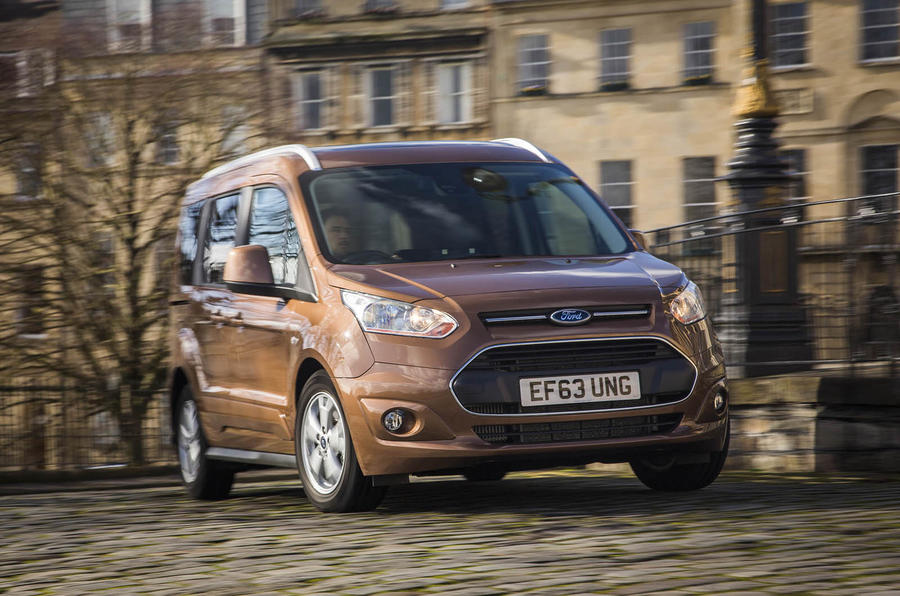 Ford Tourneo Connect 1.0 Ecoboost Zetec UK first drive review