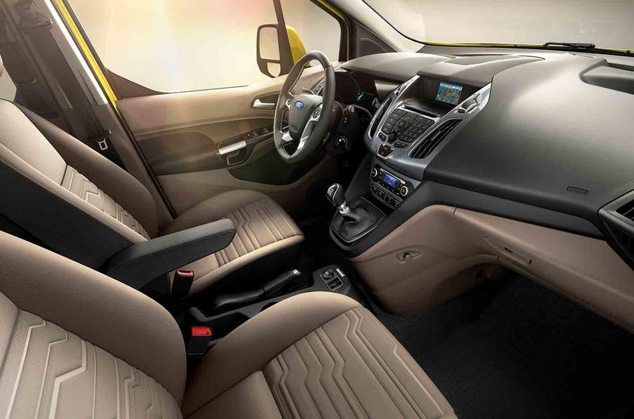 Ford Tourneo Connect interior