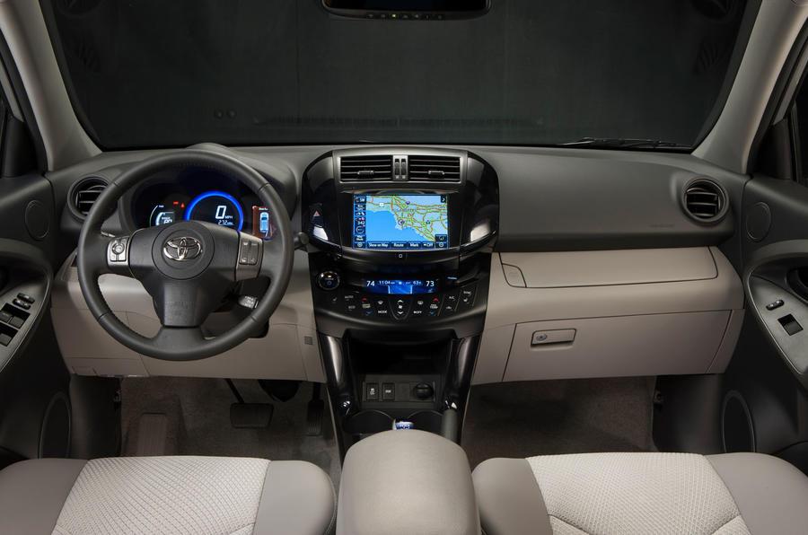 Toyota RAV4 EV dashboard