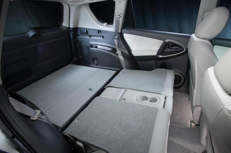 Toyota RAV4 EV extended boot space