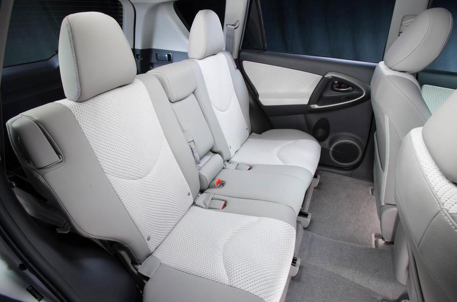 Toyota RAV4 EV rear seats