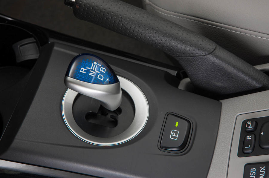 Toyota RAV4 EV automatic gearbox