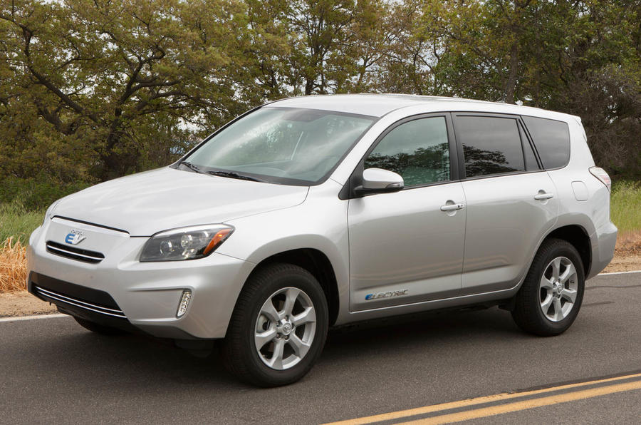 Toyota RAV4 EV first drive review