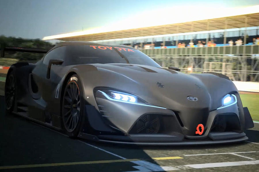 Toyota reveals new racing FT-1 Vision Gran Turismo concept - new pictures