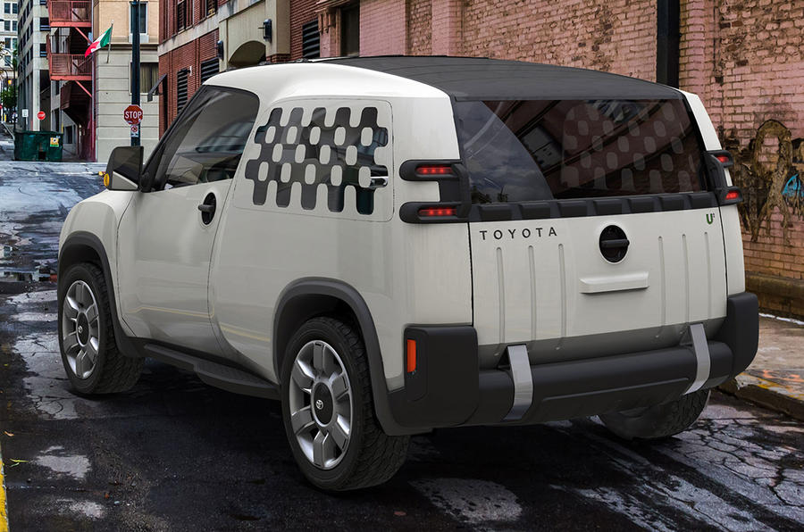 Toyota reveals rugged urban SUV concept