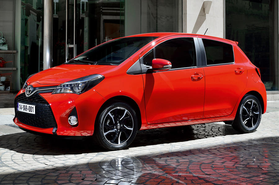 Facelifted Toyota Yaris now on sale