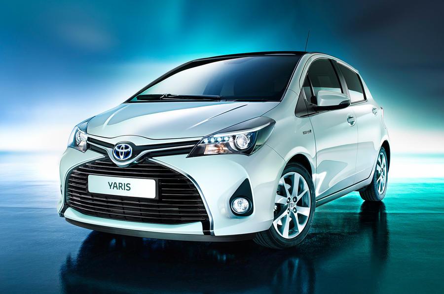 Facelifted Toyota Yaris revealed