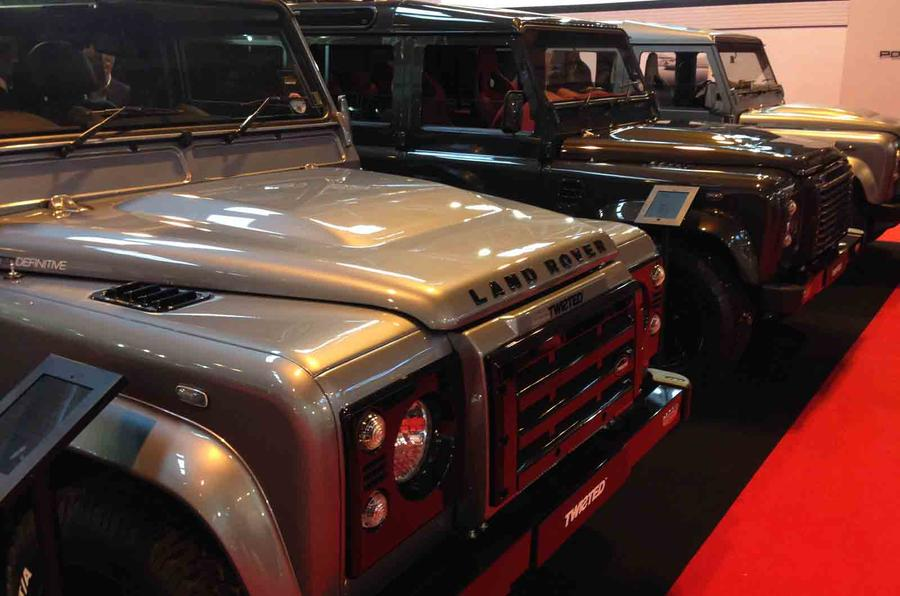 Twisted launches new models at Autosport International show