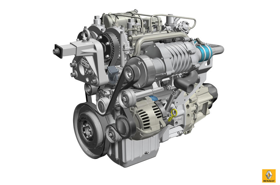Renault reveals lightweight two-stroke diesel
