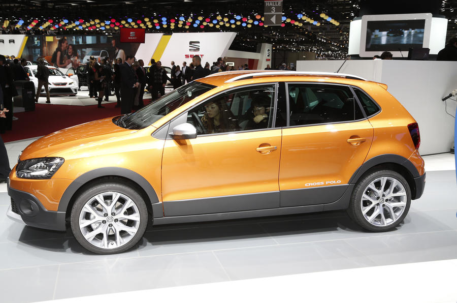New Volkswagen CrossPolo shown in Geneva