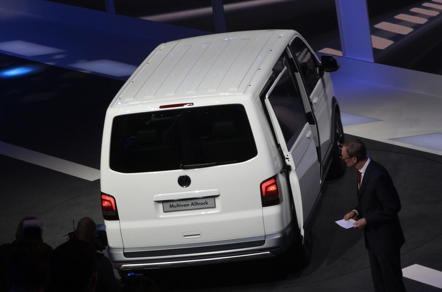 Four-wheel drive VW Transporter 'Alltrack' revealed