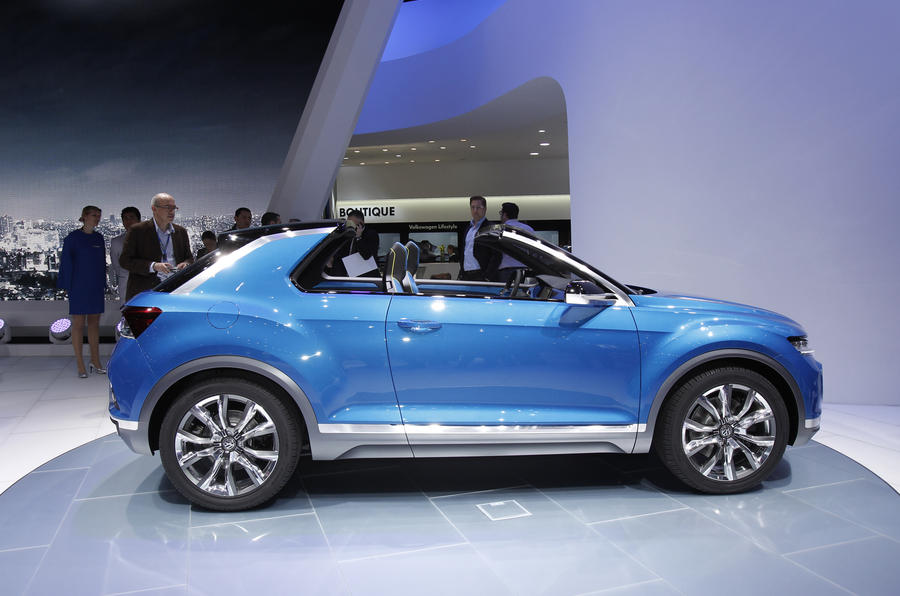 production looms for golf based volkswagen t roc compact suv autocar. Black Bedroom Furniture Sets. Home Design Ideas
