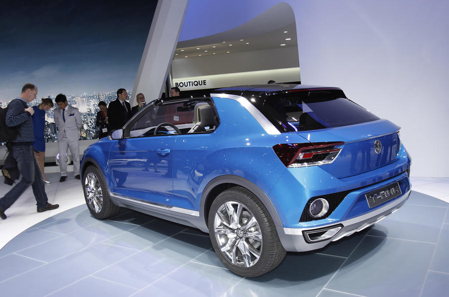 Production looms for Golf-based Volkswagen T-Roc compact SUV