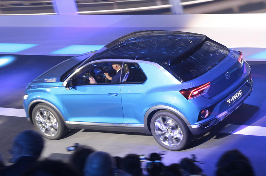 VW Golf-based T-Roc compact SUV to make production