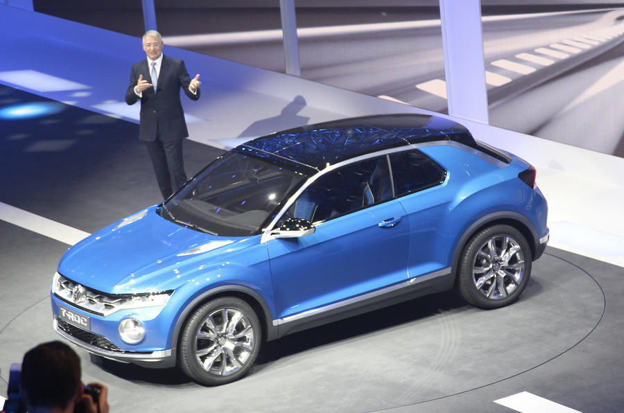 Production looms for Golf-based Volkswagen T-Roc compact ...