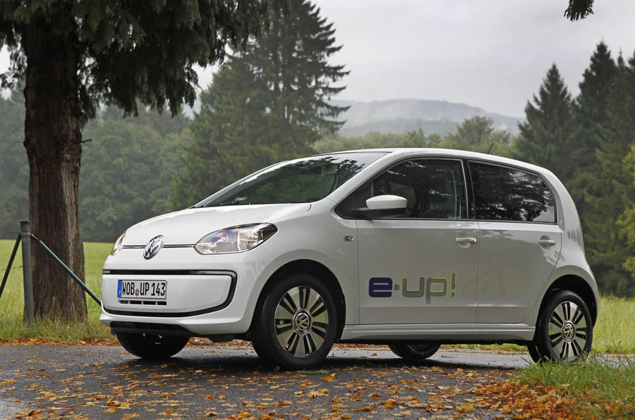 Fully-electric Volkswagen e-Up