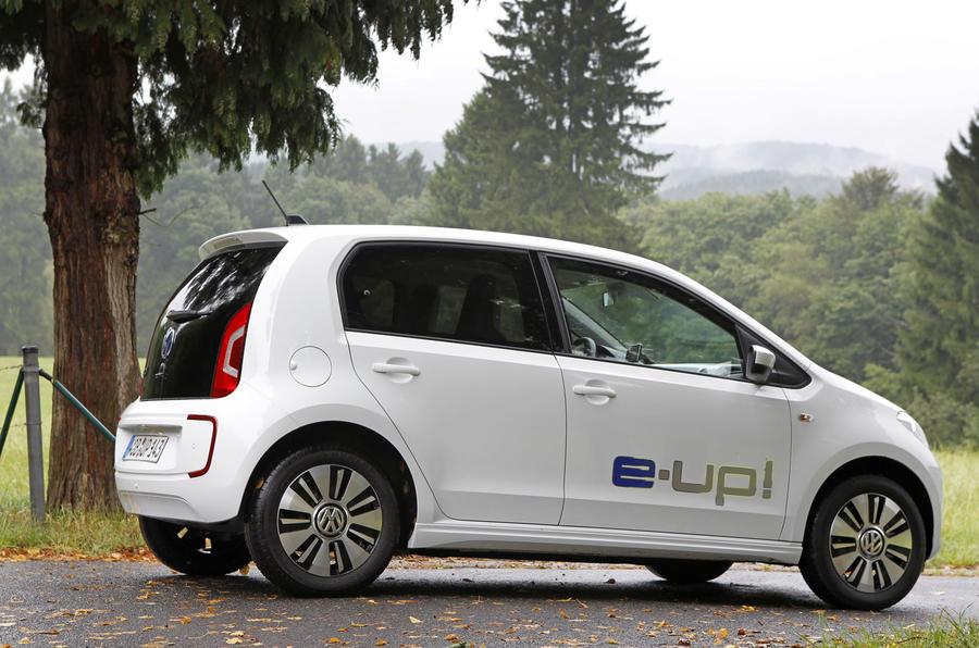 Volkswagen e-Up rear