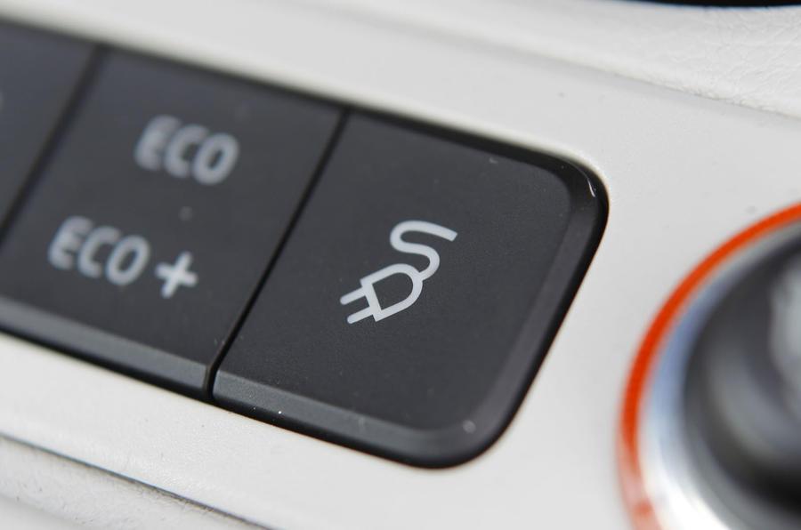 Volkswagen e-Up charging mode