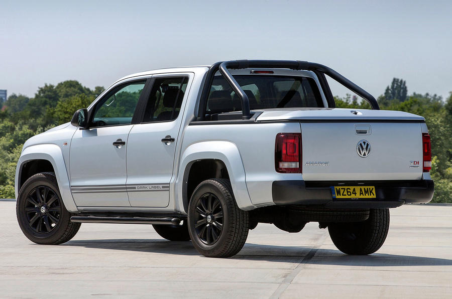 volkswagen reveals limited edition amarok dark label autocar. Black Bedroom Furniture Sets. Home Design Ideas