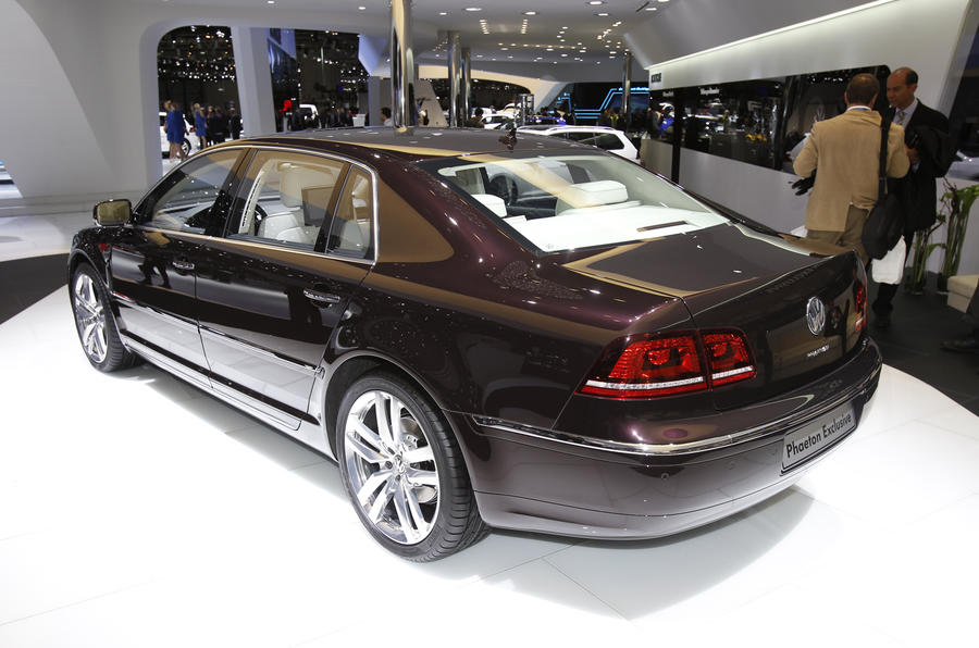 New Phaeton planned in future Volkswagen line-up