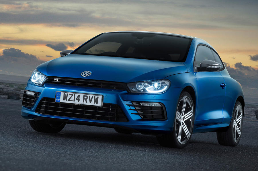 Facelifted Volkswagen Scirocco on sale for £20,455