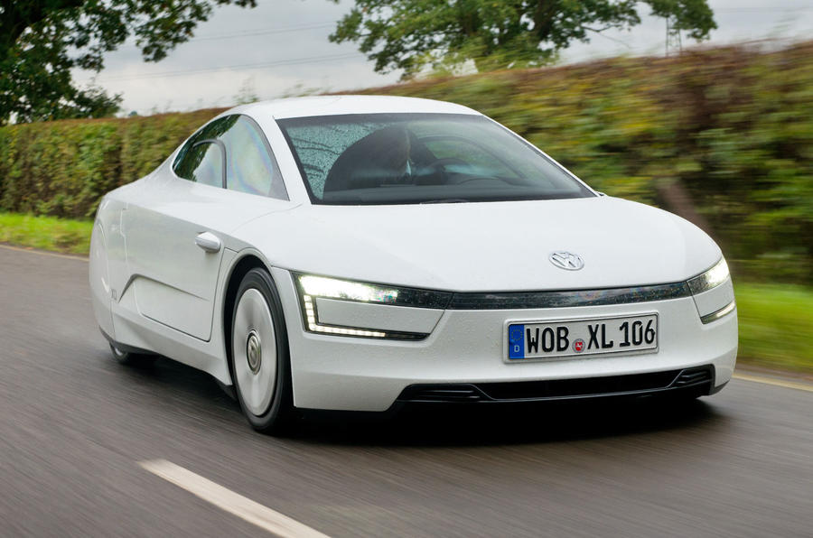 Volkswagen XL1 on sale for £98,515