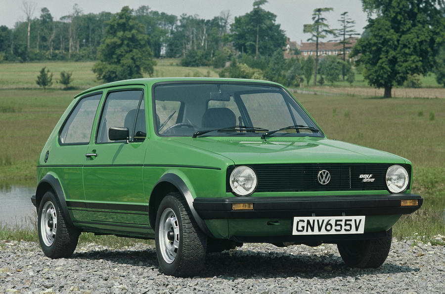 history of the volkswagen golf picture special autocar. Black Bedroom Furniture Sets. Home Design Ideas