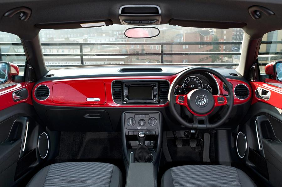 Volkswagen Beetle dashboard