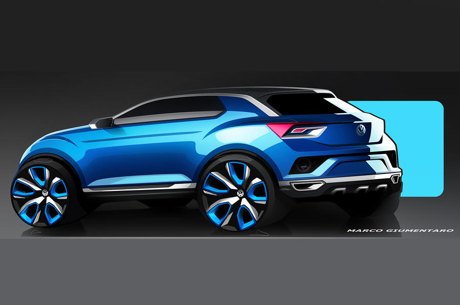 Volkswagen shows compact SUV plans with new T-Roc concept