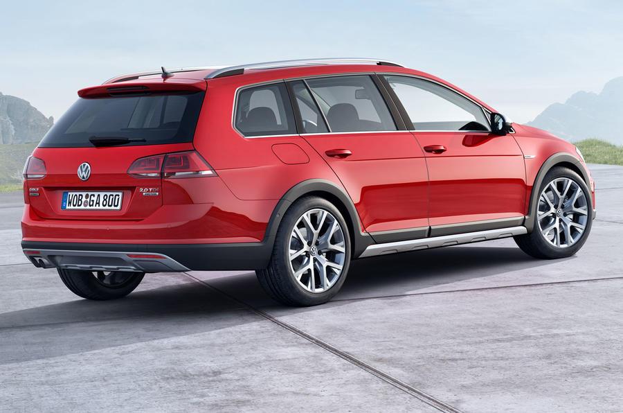 Volkswagen reveals new Golf Alltrack