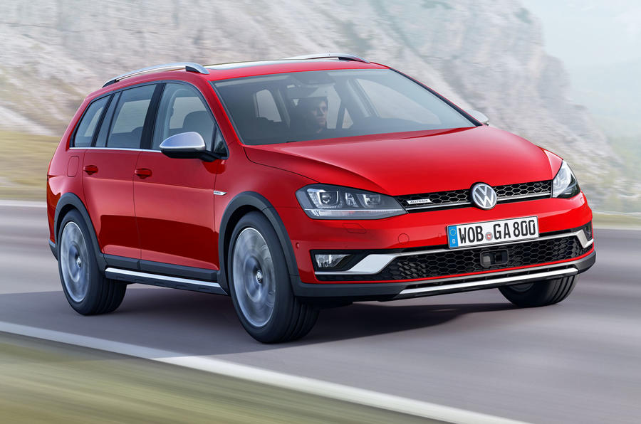 Volkswagen reveals new Golf Alltrack