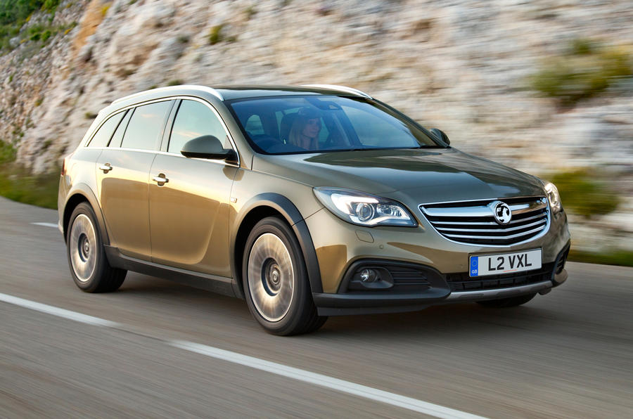 Vauxhall Reveals Insignia Country Tourer