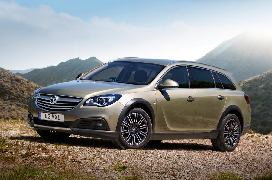 Vauxhall Insignia Country Tourer revealed